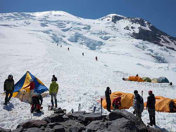 Camp Schurman, July 8, 2012